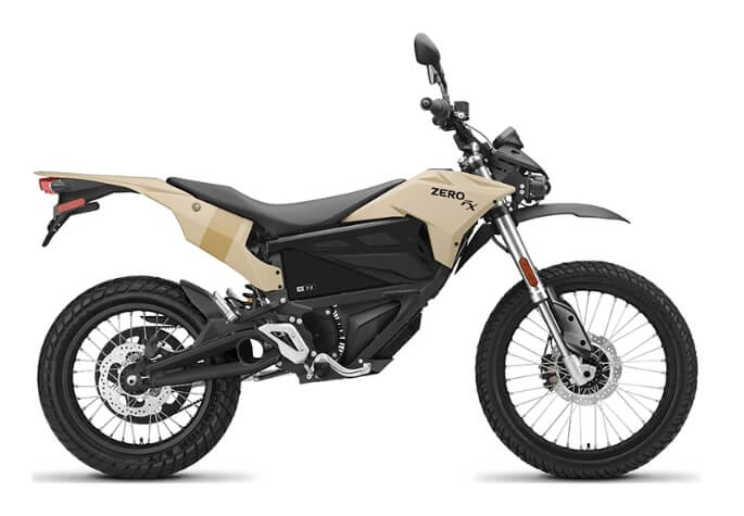 Zero FX Electric Dirt bike with ZF 3.6 battery modular