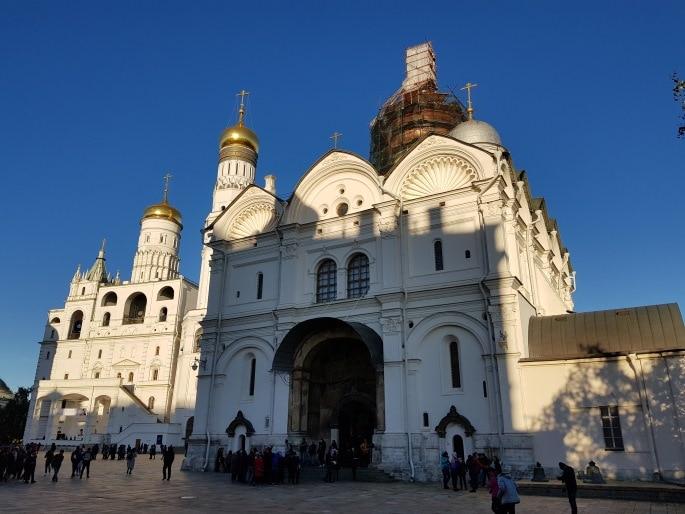 Cathédrale Archange Saint Michel Kremlin Moscou