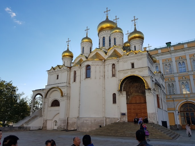 Cathedrale Dormition Kremlin Moscou