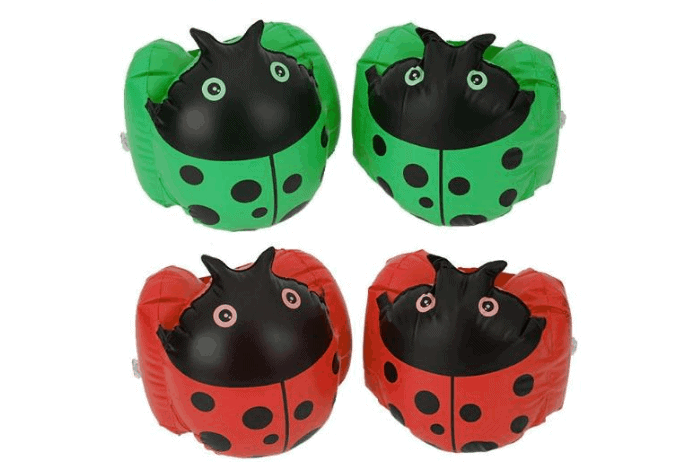Ladybug Inflatable Arm Sleeves