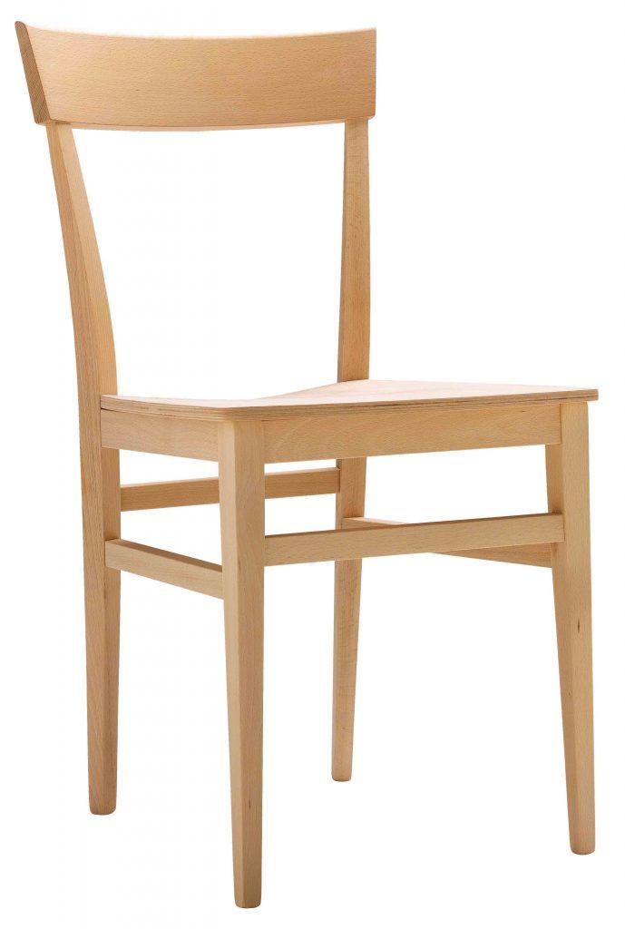 Sedia in legno moderna personalizzabile