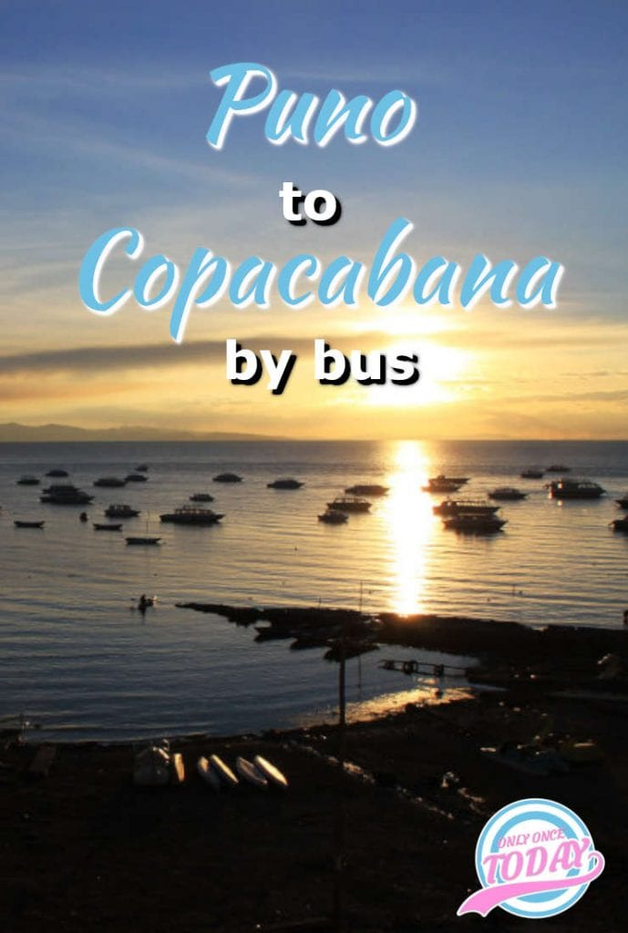 Puno to Copacabana by bus