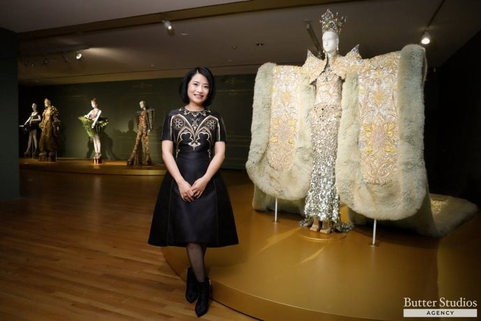 Event Photography Guo Pei in Vancouver Fete Chinoise Interview