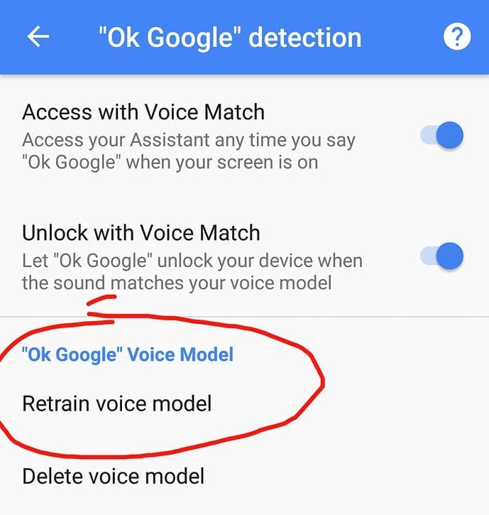 Lock your phone with OK Google