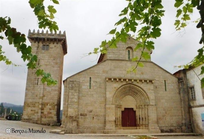 mosteiro de Salvador de Travanca em Amarante
