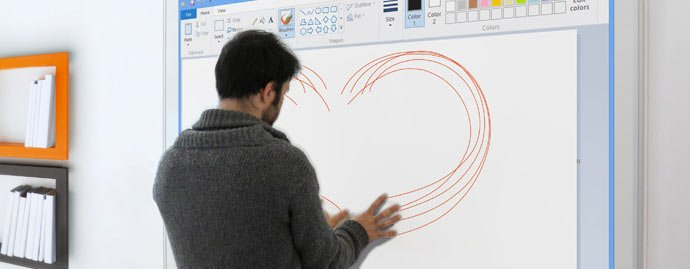interactive-touchscreen-projector