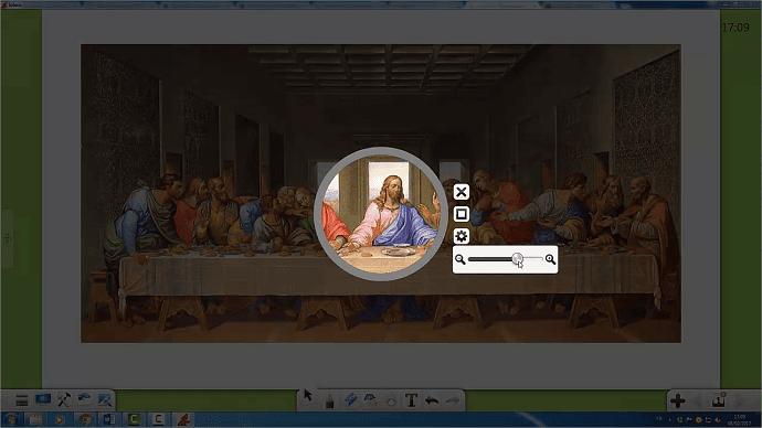 fonctionnalités du logiciel Iolaos pour écran interactif
