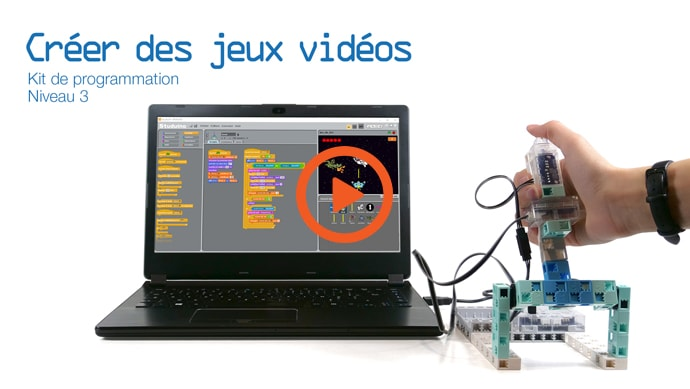 Le manuel 12 de programmation école robot : programmer un Space invaders