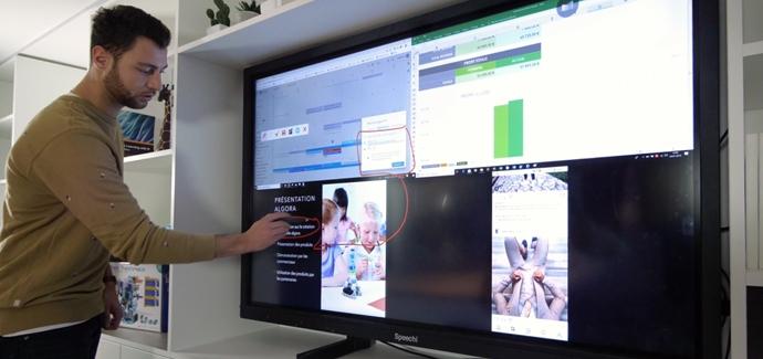 quatre-ecran-partage-sans-fil
