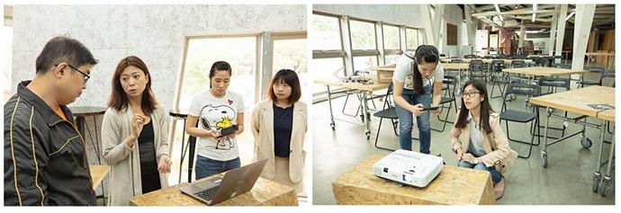 C-Hub investi dabs la clé wifi miroir EZCast 4K et l'application ProCast pour le mirroring