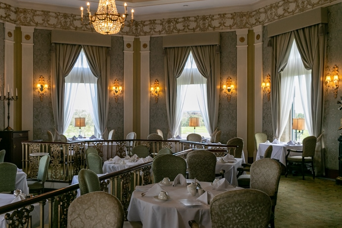 The River Room at the Glenlo Abbey Hotel