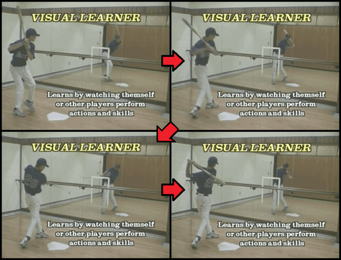 Baseball Hitting Drills using a Mirror