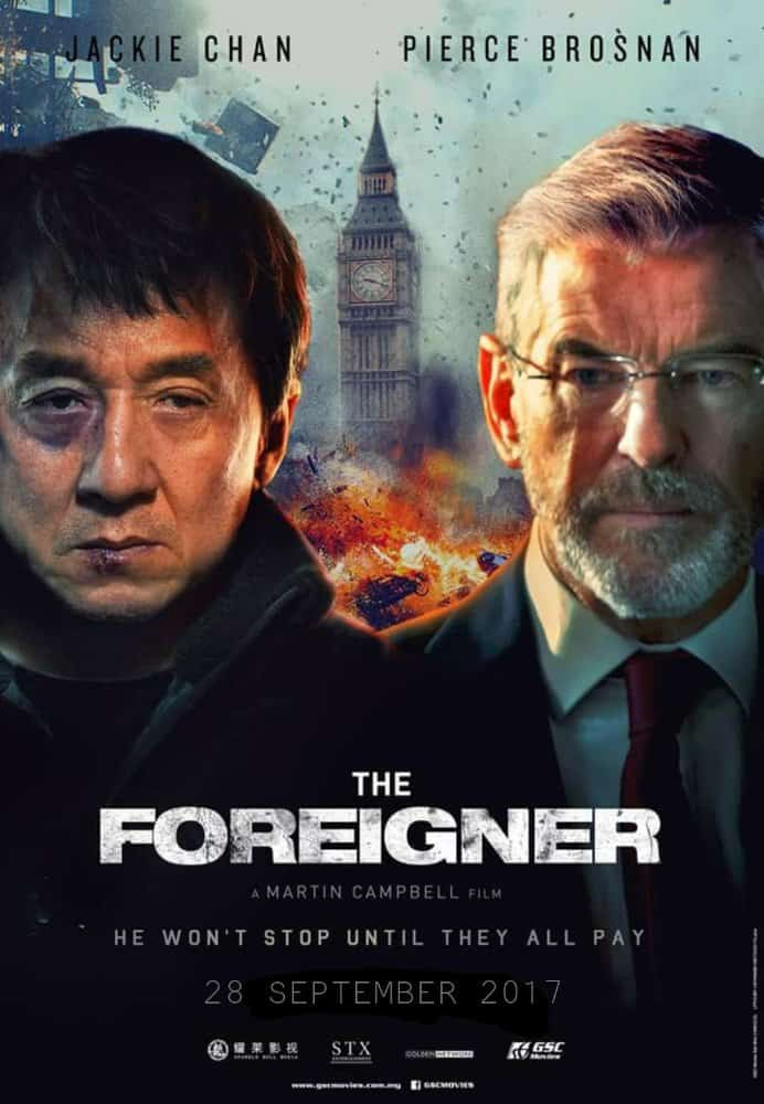 poster film the foreigner