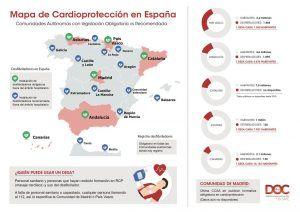 Mapa De Cardioproteccion En España
