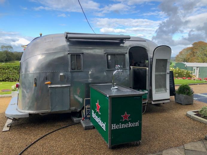 Airstream Cafe at Glenlo Abbey Hotel