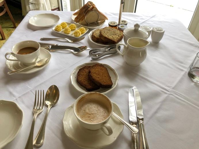 Breakfast at the Glenlo Abbey Hotel
