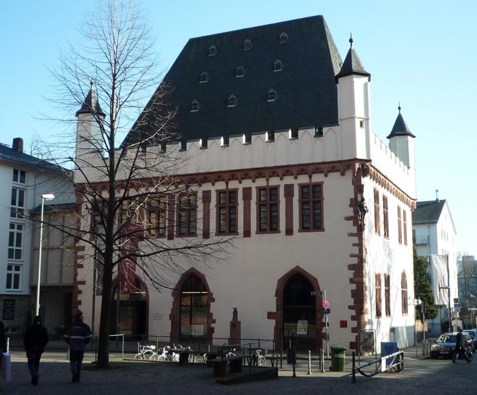 Frankfurt travel Trips visit the cartoon museum