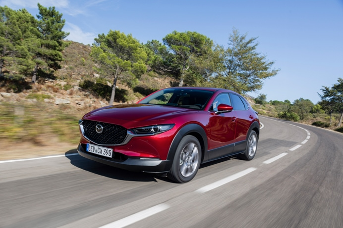 Mazda CX-30 road trip from Barcelona to Girona