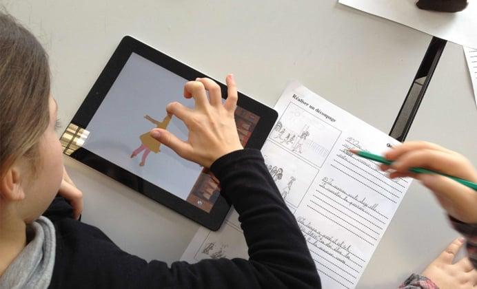 tablette en classe