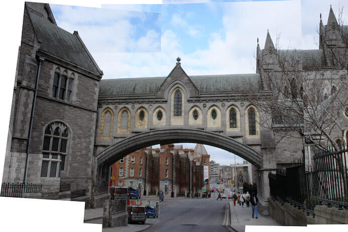 photography portfolio tips -  christchurch cathedral dublin ireland