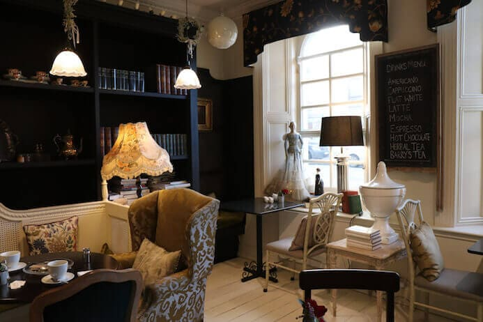 Cafe Townhouse Doneralie review - one of the nicest cafes in Ireland