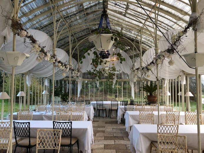 Longueville House Cork review - this is a stunning four-star heritage-listed Georgian property in Mallow Co. Cork in Ireland. This is the Turner Victorian Conservatory