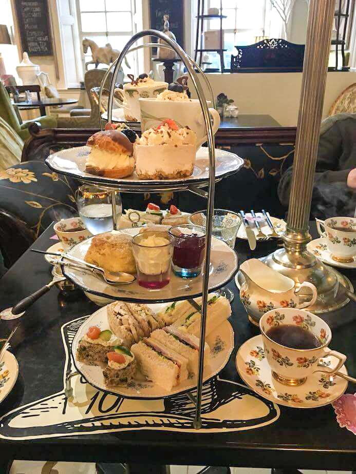 Cafe Townhouse Doneraile review afternoon tea