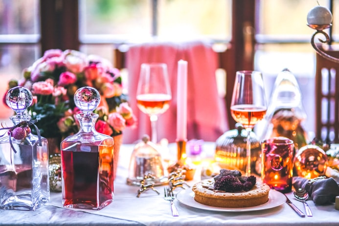 Rosé wine and food pairing