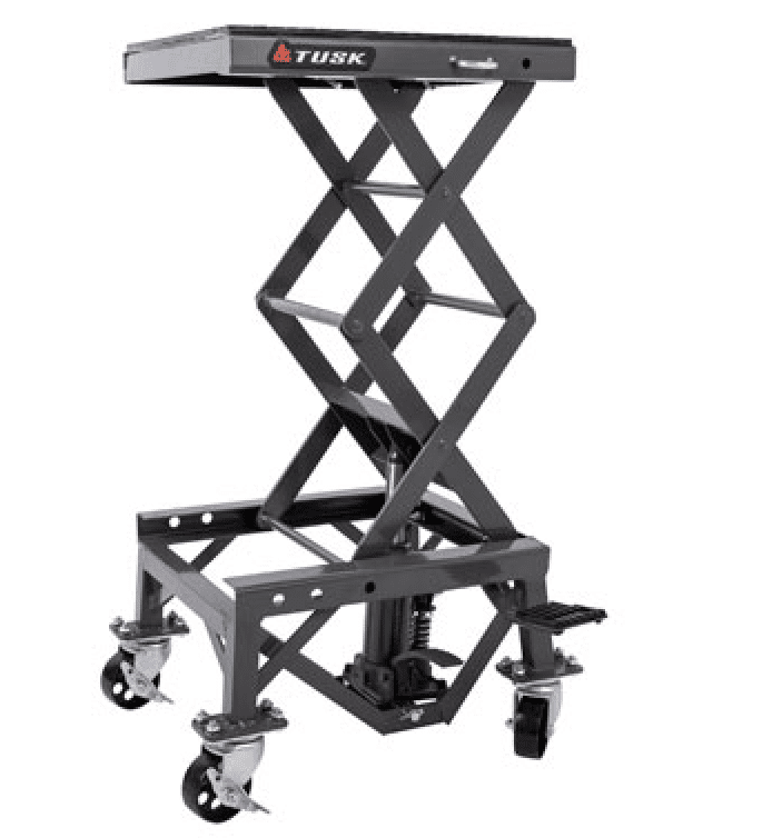 2020 Dirt Bike Tusk Scissor Lift stand