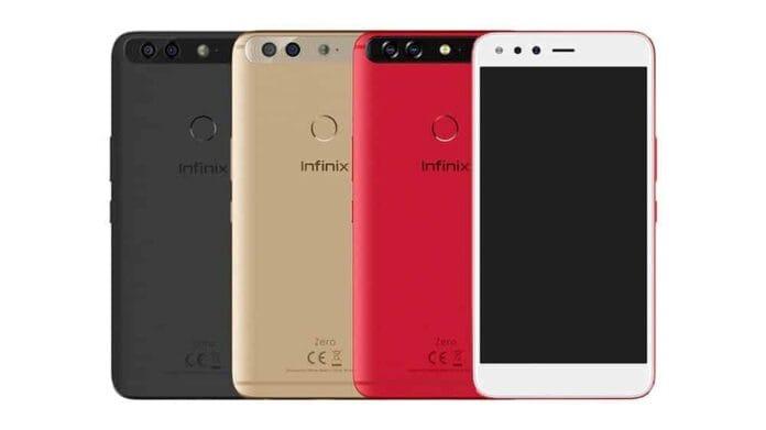 Infinix Zero 5 pro design