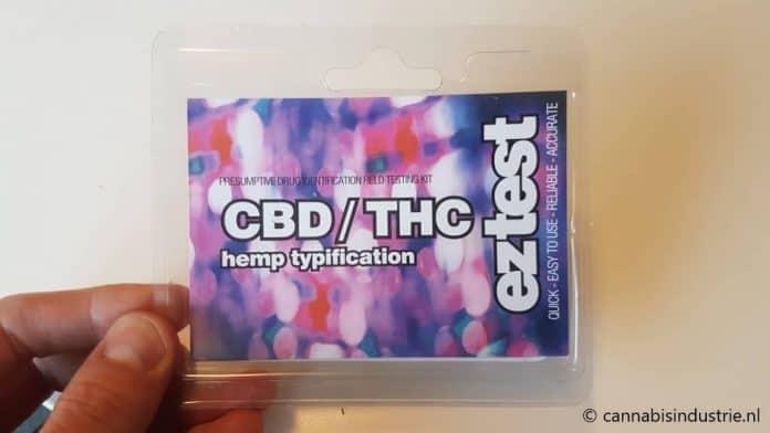 eztest synthetische cannabinoïden cbd wiet MDMB-4 PINACA