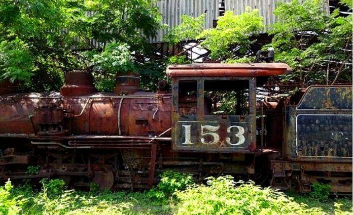 Museo del Ferrocarril de Zacapa