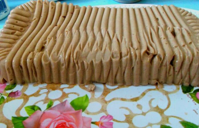 рецепт десерта ряженка какао желатин пошагово фото