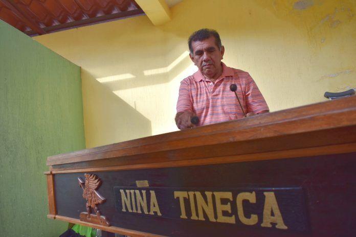 Lázaro Rodas, director de Orquesta Niña Tineca