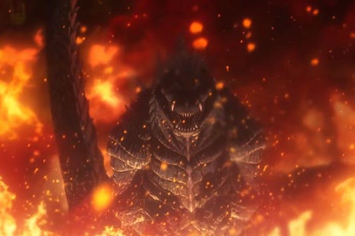 trailer netflix anime godzilla singular point