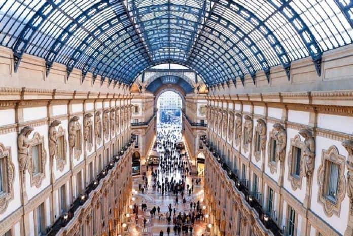Dior ha preso il posto di Versace in Galleria