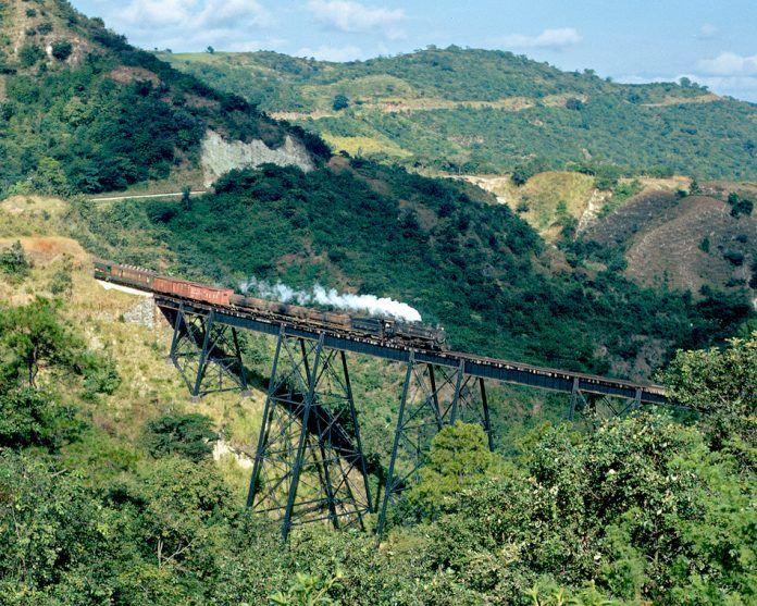 Ferrocarril del Norte de Guatemala en El Progreso