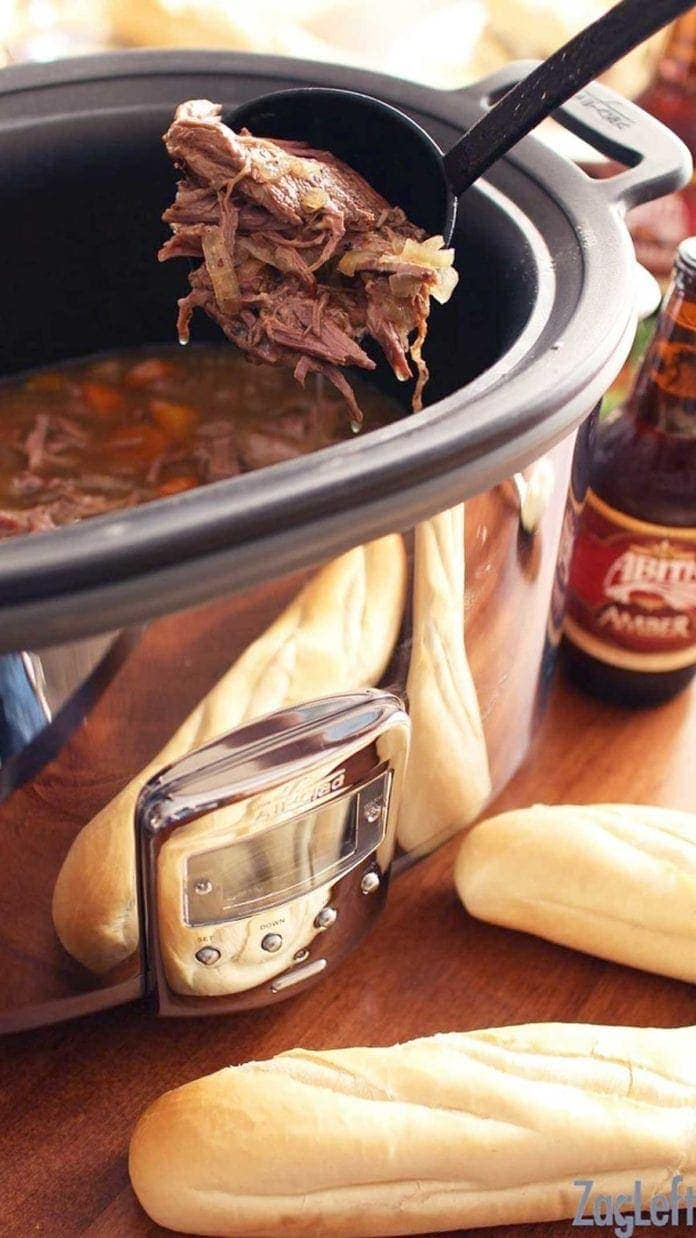 slow cooker recipes adapting from a large slow cooker to a small slow cooker | one dish kitchen