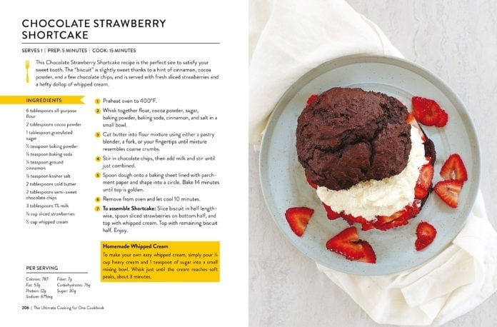 Chocolate Strawberry Shortcake recipe