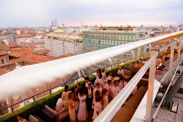 THE ROOF white terrace party