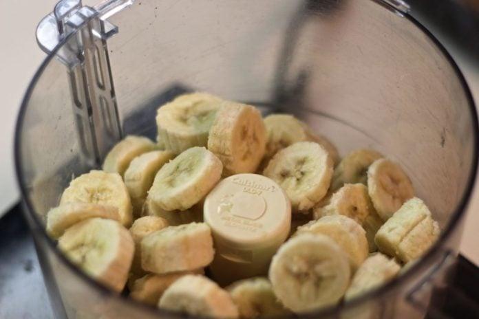 One ingredient banana ice cream from zagleft b