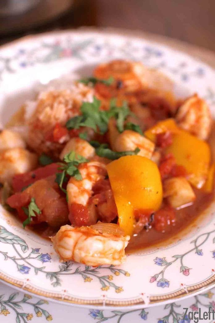 Spicy Shrimp and Scallops | ZagLeft