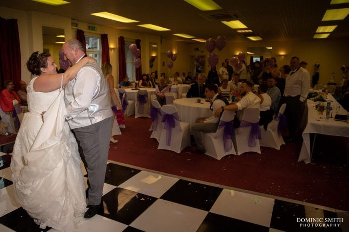 First Dance at Nutfield Lodge 2