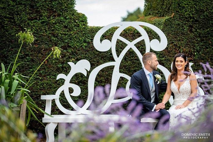 Wedding Bench Photo at Nymans