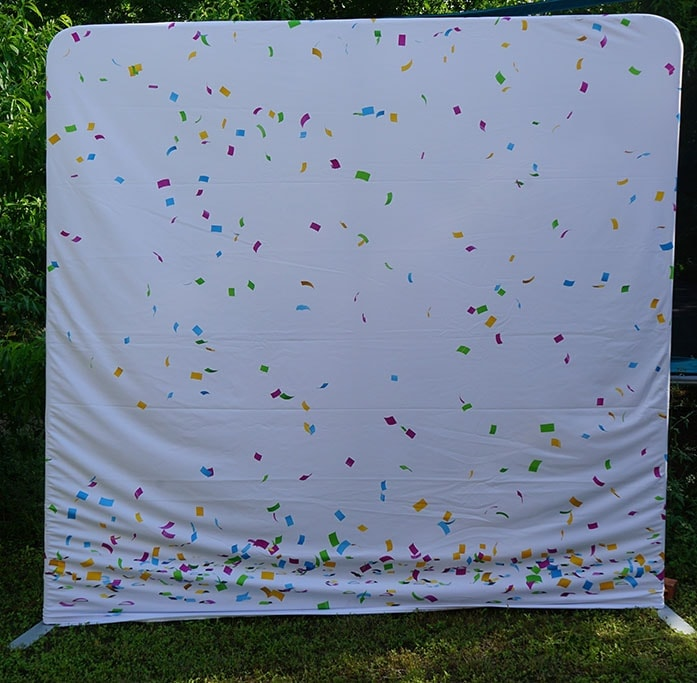 Photo Booth Backdrop | Pillowcase Austin TX | Fun Fun Party