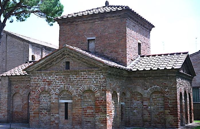 ラヴェンナのガッラ・プラチディア廟