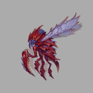 WoW Visions of NZoth Concept Aqir