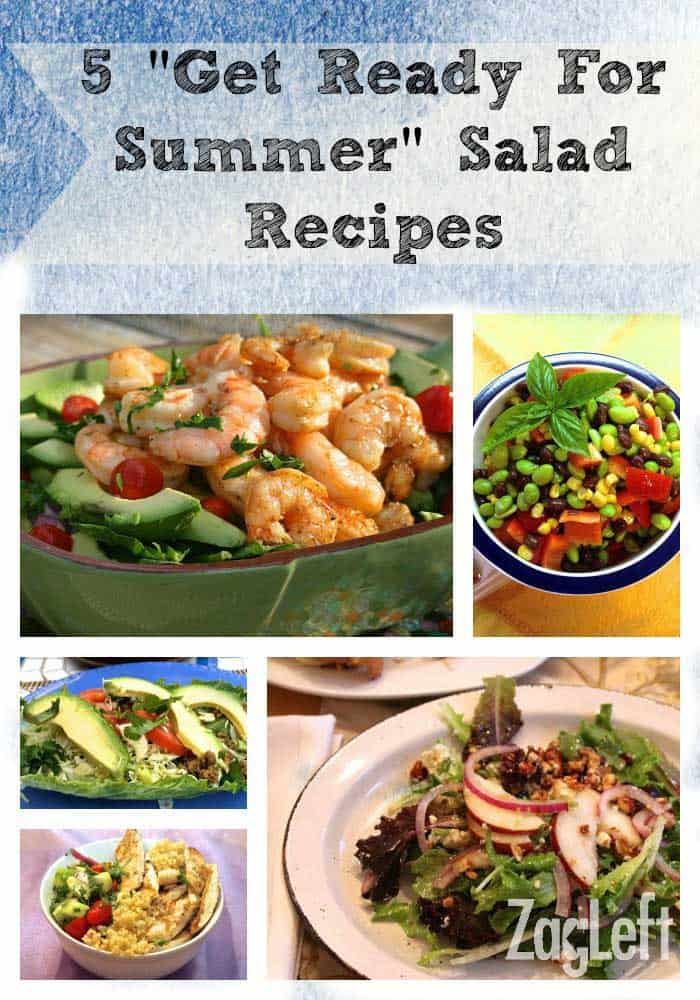 5 Get Ready For Summer Salad Recipes from ZagLeft