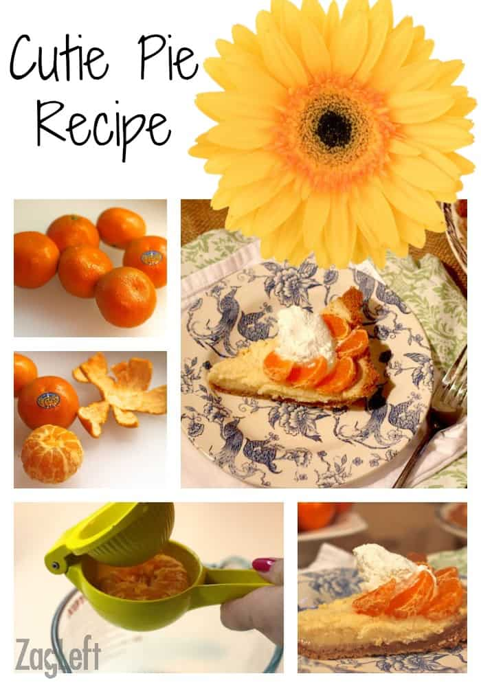 Cutie Pie (clementines pie) Recipe from ZagLeft