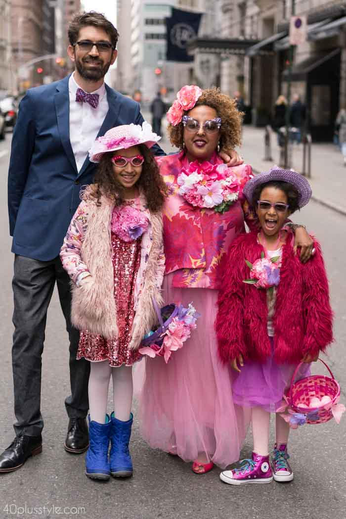 Glitters and florals - Easter Parade outfits | 40plusstyle.com